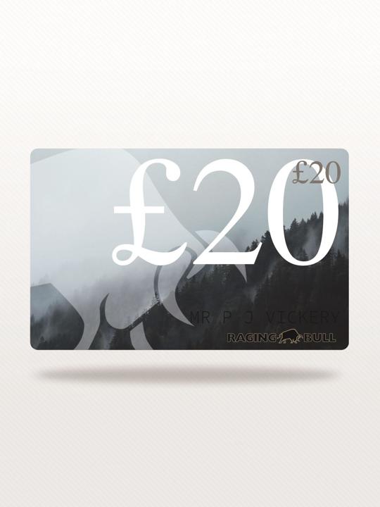 Raging Bull £20 e-Gift Card