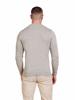 Raging Bull Crew Neck Cotton/Cashmere Knit - Grey Marl
