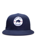 Raging Bull Patch Snapback Cap - Navy
