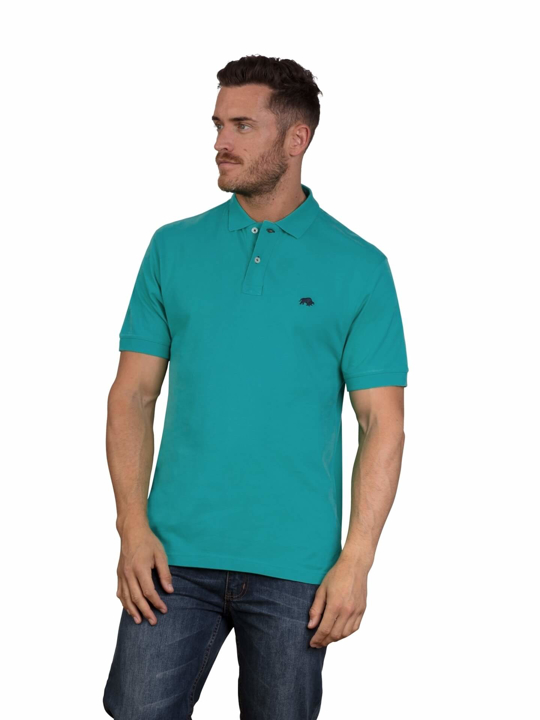 Raging Bull - Big & Tall - Signature Polo - Teal
