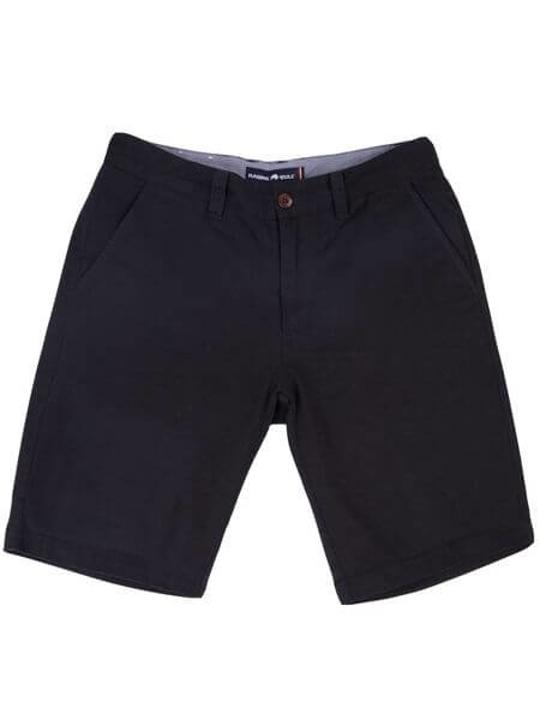 high quality navy chino shorts