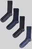 Raging Bull 4 Pack Bamboo Socks - Various