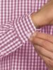 Raging Bull Long Sleeve Signature Gingham Shirt - Purple