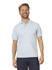 Raging Bull Big & Tall Birdseye Stripe Polo - Sky Blue