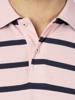 Raging Bull Breton Stripe Polo - Pink