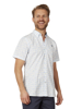 Raging Bull Short Sleeve Floral Print Shirt - White