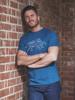 Raging Bull Denim Bull T-Shirt - Mid Blue