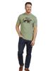 Raging Bull Big & Tall Camo Bull T-Shirt - Green