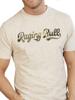 Raging Bull Big & Tall Script T-Shirt - Biscuit