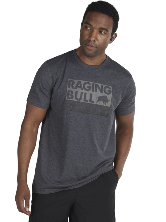 high quality graphic grey t-shirt