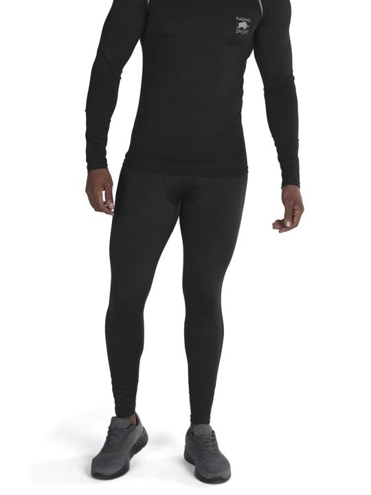 model wearing high quality compression legging