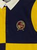 Raging Bull Short Sleeve Harlequin Rugby - Yellow