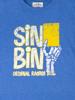 Raging Bull Sin Bin T-Shirt - Cobalt Blue