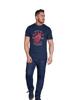 Raging Bull Big & Tall Heart & Soul T-Shirt - Navy