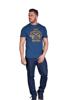 Raging Bull Flag T-Shirt - Navy