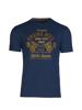 high quality blue graphic t-shirt