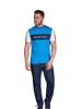 Raging Bull Cut & Sew T-Shirt - Cobalt Blue