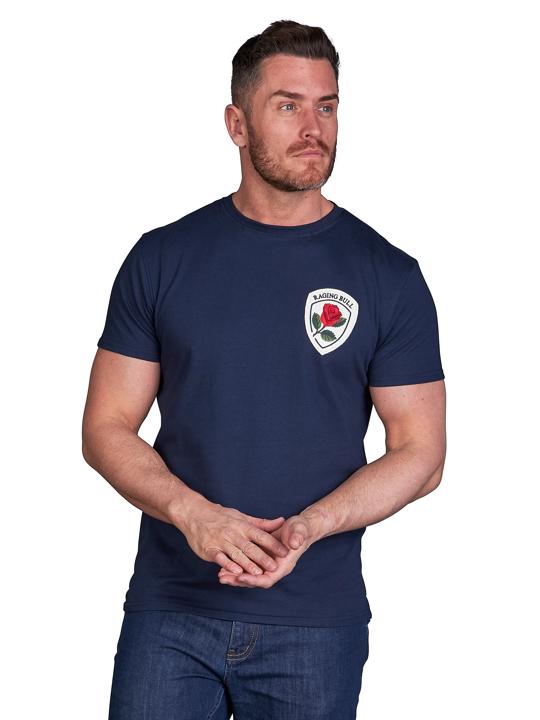 Raging Bull Heritage T-Shirt - Navy
