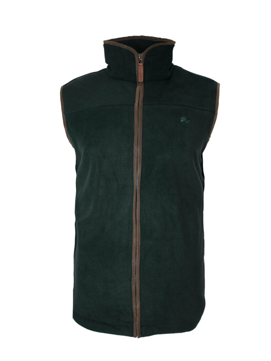 Raging Bull Fleece Gilet - Olive