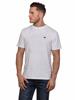 Model wearing High quality white T-shirt