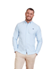 Raging Bull Long Sleeve Signature Oxford Shirt - Sky Blue