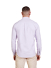 Raging Bull Long Sleeve Signature Oxford Shirt - Purple