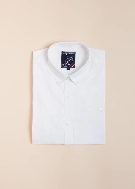 Raging Bull Big & Tall - Long Sleeve Signature Poplin Shirt - White