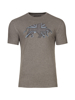 Raging Bull Union Jack Bull Tee - Dark Grey