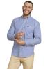 Raging Bull Long Sleeve Signature Gingham Shirt - Navy