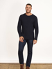 Raging Bull Big & Tall - Signature Cable Knit Crew Neck  - Navy