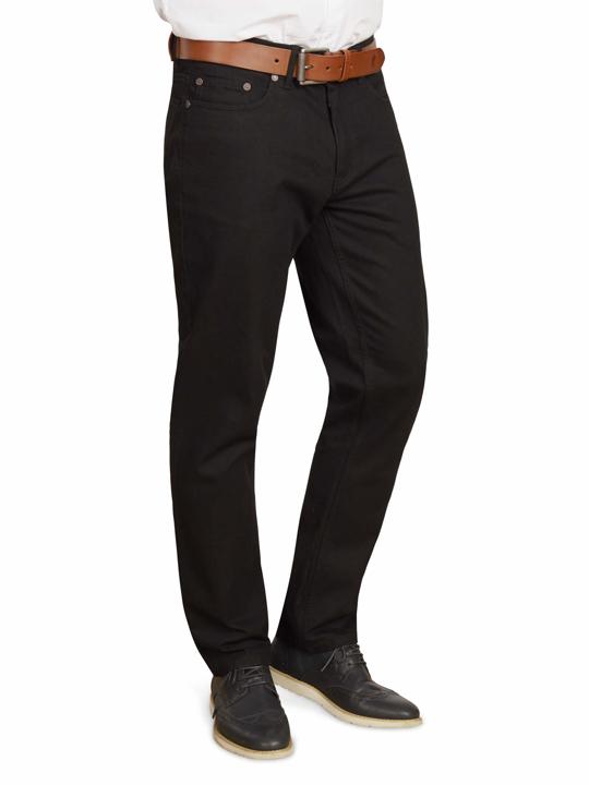 Raging Bull - Tapered Jeans - Black