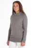 Raging Bull Soft Roll Neck Pullover - Grey Marl
