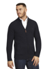 Raging Bull Heavy Knit Zip Through - Navy