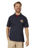 Raging Bull Crest Pique Polo - Navy