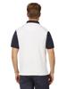Raging Bull Big & Tall Cut & Sew Pique Polo - White