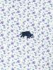 Raging Bull Big & Tall Long Sleeve Micro Floral Shirt - Purple