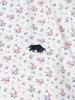 Raging Bull Big & Tall Short Sleeve Micro Rose Print Shirt - Pink