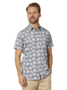 Raging Bull Short Sleeve Floral Shirt - Chambray