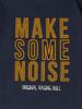 Raging Bull Make Some Noise Tee - Navy