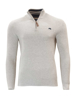 Raging Bull Big & Tall - Ribbed Quarter Zip - Grey