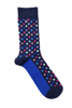 Raging Bull 3 Pack Mens Socks - Cobalt Blue