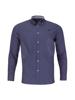 Raging Bull Long Sleeve Multi Circle Print Shirt - Navy
